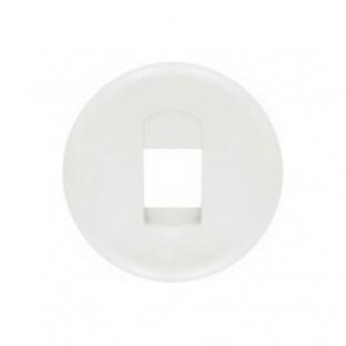 Лицевая панель для розетки акустическая, цвет белый, Legrand Celiane