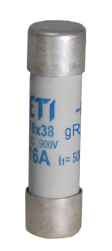 Предохранитель CH 10x38 gR-PV  2A 900V (30kA), 2625027, ETI