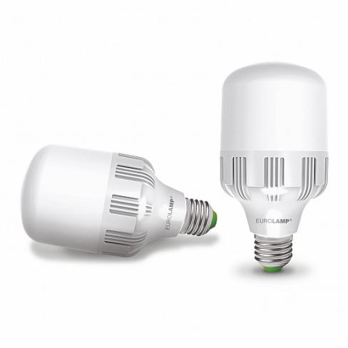 LED Лампа сверхмощная EUROLAMP 30W E27 6500K LED-HP-30276