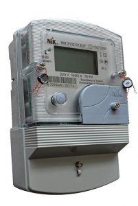 NIK 2100 AP2T.1000.C.11 (НИК 2102-01 Е2Т, 5(60)А, многотарифный, ЖКИ, двухшунтовой, электронный многотарифный)