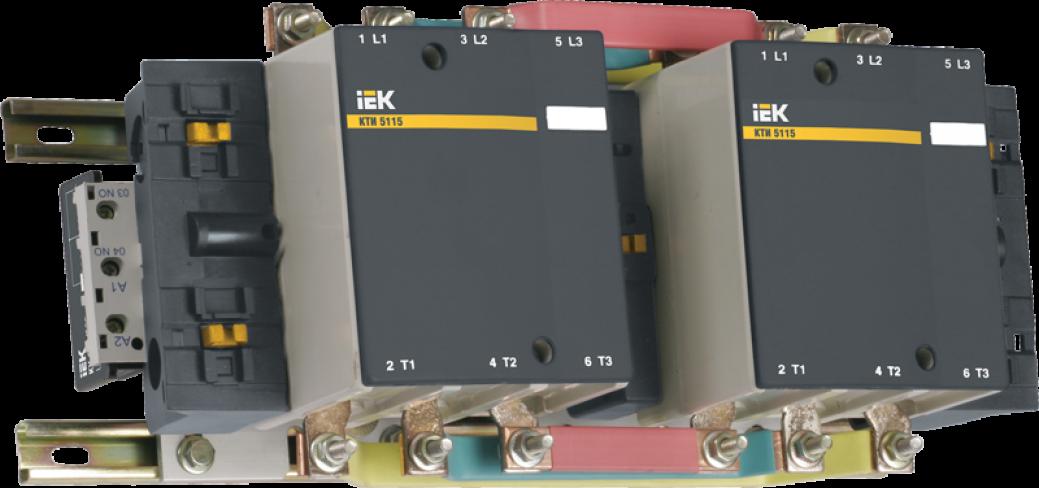 Контактор КТИ-52253 реверс 225А 400В/АС3 IEK