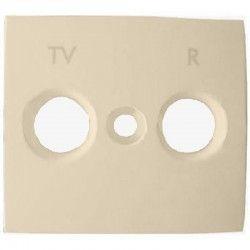 Лицевая панель Legrand Valena для розетки TV-R (алюминий)