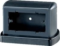 Башенка напольная TOR (RAL 7021) для установки розеток, 02090, серия Evolution/Art, ДКС