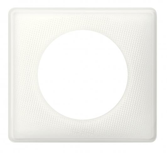 Рамка 1 пост, классика, цвет Белый муар, Legrand Celiane