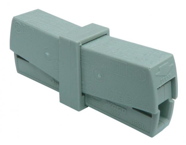 Сервисная клемма для подключения 2 проводов 0,5-2,5 mm2