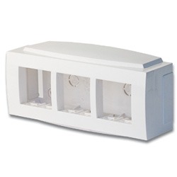 Модульная коробка для электроустанавливающих приборов Brava