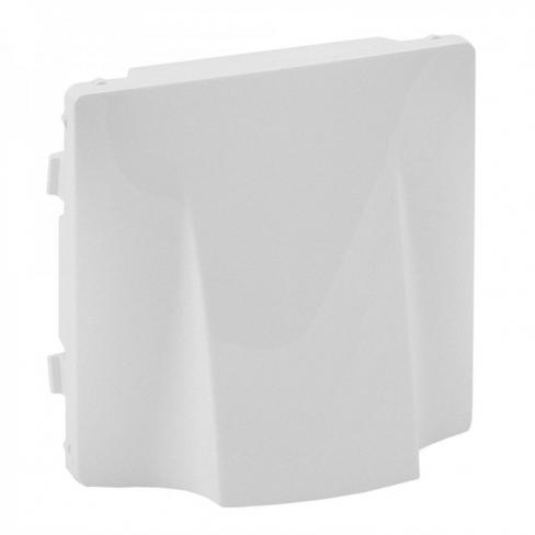Лицевая панель для заглушка-вывод кабеля, цвет белый, Legrand, Valena Life