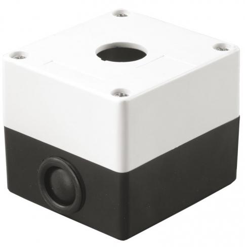 Корпус КП101 для кнопок 1 место белый IEK BKP10-1-K01