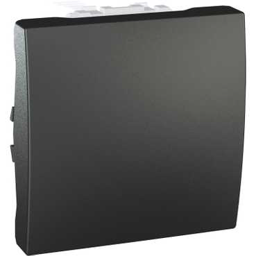 Механизм выключателя 1-кл., 10А, 2 мод., графит, Schneider Electric