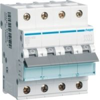 Автоматический выключатель HAGER NRN463 4p 63A, х-ка C, 15кА