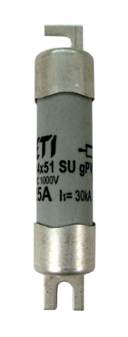 Предохранитель CH 14x51 gPV 25A 1000V (10kA), 2637109, ETI