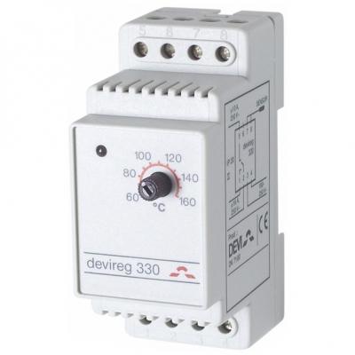 Терморегулятор Devi DEVIreg 330 от -10 до +10 °C (140F1010)
