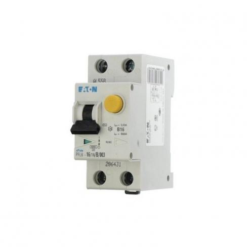 Диф автомат PFL6-20/1N/C/003, 1Р+N 20/0,03А 6кА х-ка С, 286468, Eaton