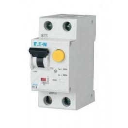 Дифференциальный автомат PFL4 1+N, 25A, 30mA, х-ка В, 4,5кА, тип AС Eaton | Moeller, 293293