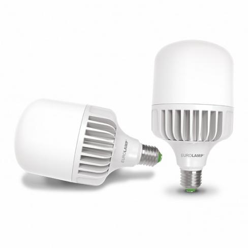 LED Лампа сверхмощная EUROLAMP 30W E27 4000K LED-HP-30274