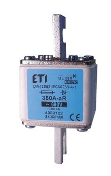 Предохранитель  S3UQ01/80/710A/690V aR (200kA), 4385129, ETI