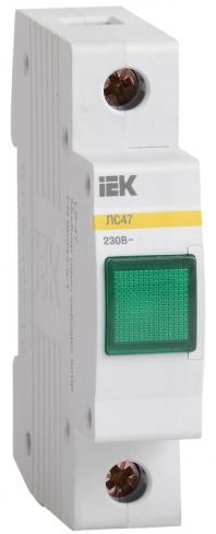 Сигнальная лампа ЛС-47 с неоновой лампой зеленая, IEK