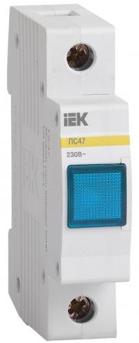 Сигнальная лампа ЛС-47 с неоновой лампой синяя, IEK