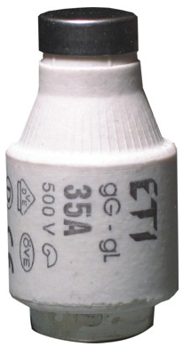 Предохранитель D III DZ 50A/500V (E33), 2313102, ETI