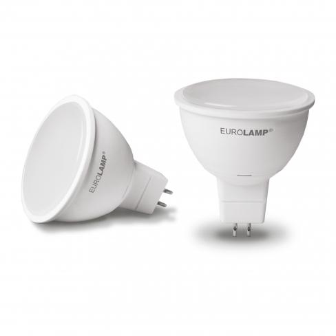 Лампа LED MR16 5,0W 4200К 220V GU5,3, Eurolamp
