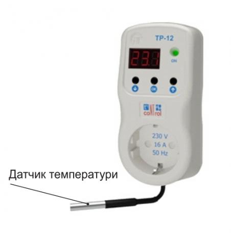 Датчик температуры NTC к МСК-102, NovatecElectro