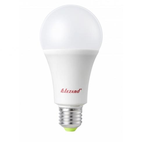 464-A60-2715 Лампа светодиодная LED GLOB A60  15W 6400K E27 220V 1шт/50шт, Lezard