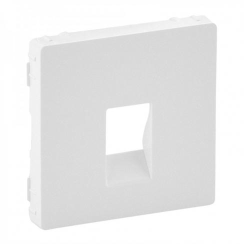 Лицевая панель для розетки акустической одинарной, цвет белый, Legrand, Valena Life