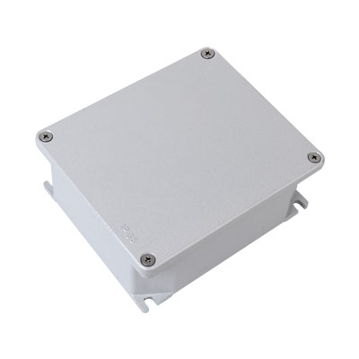 Коробка ответвительная алюминиевая окрашенная,IP66, RAL9006, 294х244х114мм, 65305, ДКС