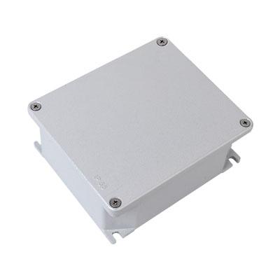 Коробка ответвительная алюминиевая окрашенная,IP66, RAL9006, 90х90х53мм, 65300, ДКС