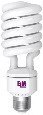 Лампа энергосберегающая 65W E40 4000K Н-SPIRAL ES-15, ELМ