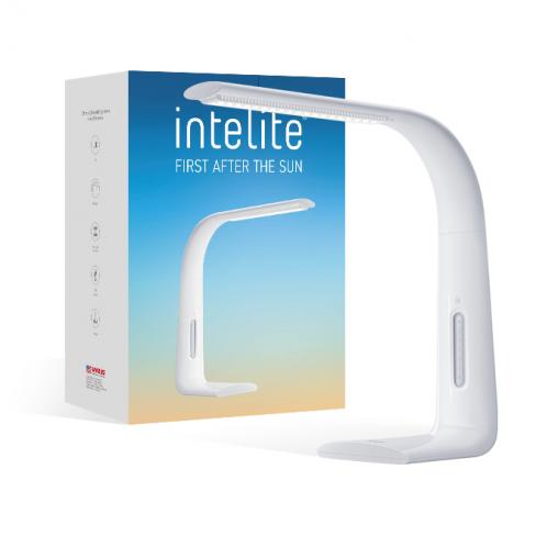 Настольный LED светильник Intelite Desklamp 7W white (DL1-7W-WT)
