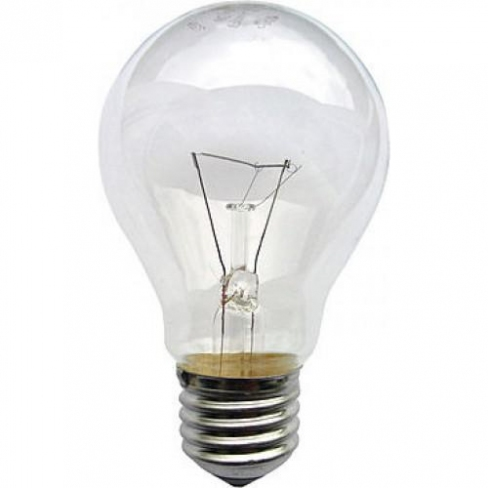 Лампа ЛОН 100 Вт Е27 прозрачная