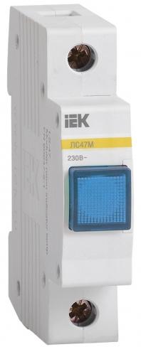 Сигнальная лампа ЛС-47М со светодиодной матрицей синяя, IEK