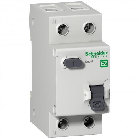 Дифференциальный автоматический выключатель EASY 9 1П+N 25А 30мА ТИП