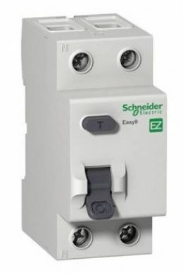 УЗО 2р 63А 30mA, тип AC, Easy9 Schneider Electric, EZ9R34263