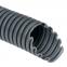 Труба гофрированная номинальный диаметр 29 мм, V0, D 28,3/34,5мм (вн/нар), полиамид 6, цвет тёмно-серый, без протяжки (бухта 25 м), DKC, PA602935F0