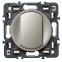 Лицевая панель для выключателя без фиксации, цвет титан, Legrand Celiane