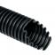 Труба гофрированная номинальный диаметр 10 мм, V2, D 9,7/13,0 мм (вн/нар), полиамид 6, цвет чёрный (бухта 50 м), DKC, PA601013F2